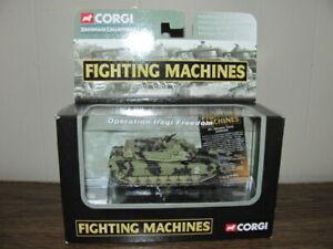 CORGI FIGHTING MACHINES M1 ABRAMS TANK OPERATION IRAQI FREEDOM