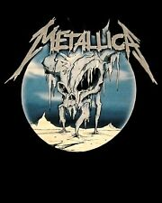 METALLICA cd lgo ICE SKULL Official SHIRT LRG New trapped under ice