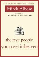 The Five 5 People You Meet in Heaven paperback by  Mitch Albom FREE SHIP