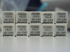 10 X RIFA PFE225 15nF 15000pF 0.015uF 63V 1.25% KS POLYSTYRENE FILM CAPACITOR