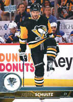 2017-18 Upper Deck Hockey #396 Justin Schultz Pittsburgh Penguins