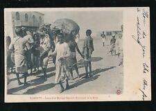 East Africa marriage Transport de la Dot c1902 u/b PPC used 1907