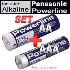 Batterien-SET MIGNON AA LR6 MN1500 + MICRO AAA LR3 MN2400 PANASONIC POWERLINE