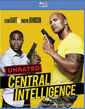 GENUINE WB USA BLU RAY DWAYNE JOHNSON CENTRAL INTELLIGENCE FREE FAST 1ST CLS S&H