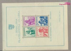 Yugoslavia block1 (complete issue) unmounted mint / never hinged 1937  (9477673
