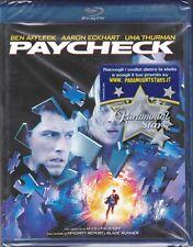 Blu-ray **PAYCHECK** di John Woo con Ben Affleck Uma Thurman nuovo 2003