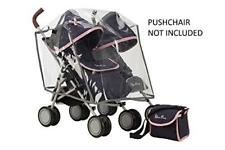 Silver Cross Pop Twin Universal Dolls Pushchair Accessory Pack Vintage Blue