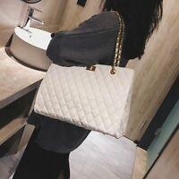 Chain Large Shoulder Bag Women Travel Bags Patent Leather Luxury Handbag Casual