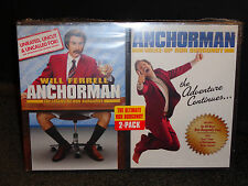 ANCHORMAN-LEGEND OF RON BURGUNDY, WAKE-UP RON BURGUNDY 2 Pack-Will Ferrell-DVD