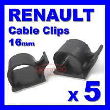 RENAULT Autoadesivo Cavo Clip CABLAGGIO FILI GUAINA CABLAGGIO 16mm Holder Clamp