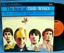 LP THE WHO-The Best of // TOP RARE Dutch Pressing MINT -