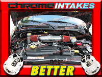 Chrome Black Dual Head Air Intake Set For 2007-2010 Dodge Nitro 3.7L V6