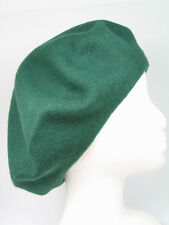 Women's 100% Soft Wool French Beret Hats Tam Beanie Slouch Classic Beanie Hat