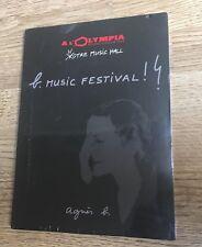 # DVD promo B. Music Festival ! à L'Olympia Hushpuppies Sonic Youth NEUF SCELLÉ