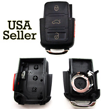 Replacement Remote Car Key Fob Shell Case for Volkswagen VW 02-05 Jetta Passat