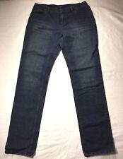 J. Jill Weekender Straight leg Size 4 Petite Jeans Easy Fit Dark Wash
