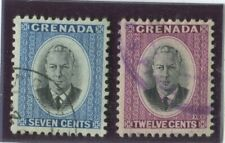 Grenada Stamps Scott #158,159 (2) Used,VF  (X7750N)