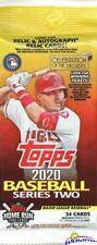 2020 Topps Series 2 Baseball HUGE Factory Sealed JUMBO FAT PACK-34 Cards!