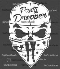 Panty Dropper Skull Cool Vinyl Decal Sticker Car Truck JDM Window Decal