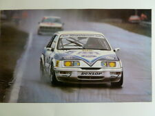 1987 Ford 1.5 Liter V-6 Turbo GP Coupe Print, Picture Poster RARE!! Awesome L@@K