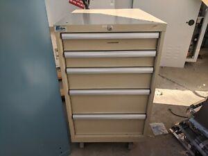 Lista 5 Drawer Bench Height Storage Cabinet