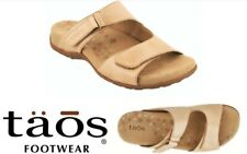 Taos Comfort slip on adjustable sandals leather Taos Shoes Habana Sale