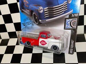 """Hot Wheels 1952 Chevy Truck - """"DAIRY QUEEN"""" custom"""