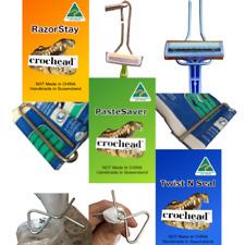 Razor Holder - Toothpaste Clip - Bag Sealing Clips - non disposable for home