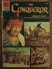 Four Color Comics (1942) #690 - Fair - The Conqueror - John Wayne photo cover