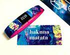 ZOX **HAKUNA MATATA** Silver Single med Wristband w/Card New Mystery Pack