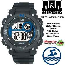 AUSSIE SELLER GENTS DIGITAL WATCH CITIZEN MADE M133J003 100M RP$99.95 WARRANTY