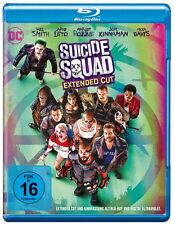 Blu-ray * Suicide Squad Blu-ray (Kinofassung & Extended Cut) * NEU OVP