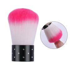 Soft Cleaning Brush Acrylic Powder Dust Remover Nail Art Tools(Random Color)