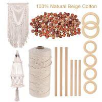 DIY Plant Hangers Knitting Macrame Craft Tools Natural Macrame Cord Rope