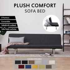 vidaXL Sofa Bed Adjustable Convertible Sleeper Daybed Couch Seat Multi Colours