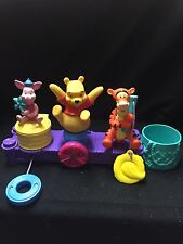 DISNEY ACTIVITY TOY VINTAGE 1999 With POOH BEAR, PIGLET & TIGER!!! SO CUTE!!!