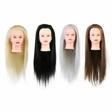 Practice Head Mannequin Doll Salon Hairdressing Training Model Hair Styling Tool