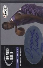 2000 SAGE BASKETBALL AUTOGRAPH DEE ANDRE HULETT *52491