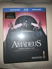 Amadeus (Blu-ray, 35 Page Book, 2-Disc Set, with Bonus Cd) Rare, Factory Sealed