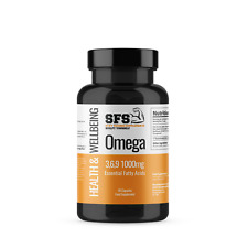 Omega 369 1000mg 90 Soft-gel Capsules - 3 Month Supply - UK