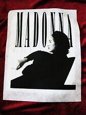 Rare Madonna Smoking MTV 92 Prototype T-shirt Sample Board Erotica Sex Promo BT