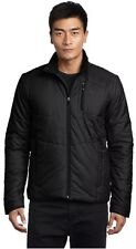 NWT Salomon 352379 Mens Insulated Black Hoodie Jacket Size XL Extra Large