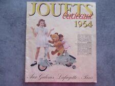 CATALOGUE JOUETS CADEAUX GALERIE LAFAYETTE 1954 PARIS AVEC TOUTE CES PAGES