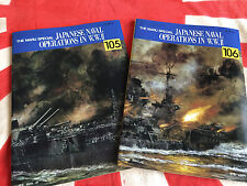IJN Japanese Navy Late WWII Ops YAMATO Fort Drum MARU SPECIAL Vols 105 106