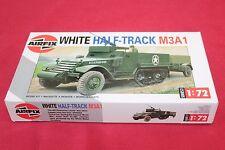 -Soldatini Figure AIRFIX HO WHITE HALF-TRACK M3A1 - 02318