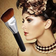 Pro Flat Buffer Wooden Liquid Foundation/Powder/Contour/Bronzer Make Up Brush