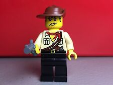 LEGO MOVIE 70815 SUPER SECRET POLICE JOHNNY THUNDER MINIFIGURE - NEW