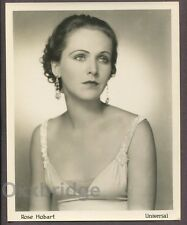 ROSE HOBART Pre-Code Art Deco Portrait 1930 DOUBLE WEIGHT Young Glamour Photo