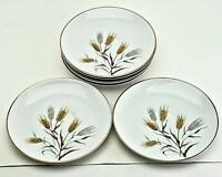 "Vintage NORITAKE CHINA WHEATON Pattern # 5414  6"" Saucers. Lot Of 6"