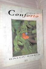 PAROLE DI CONFORTO DALLA BIBBIA EDB 1991 Religione Cattolica Teologia Biblica